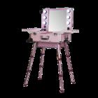 Мобильная студия визажиста VZ-210 розовая