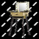 Мобильная студия визажиста VZ-210 золотая